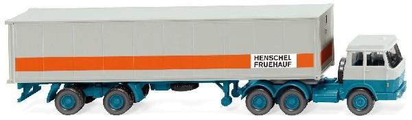 Containersattelzug Hanomag/Henschel 1:87