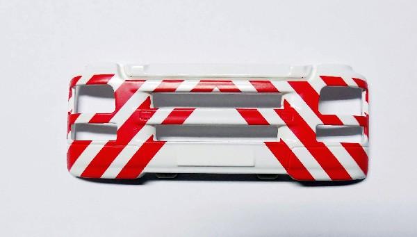 MAN TG-S Stoßstange weiß/rot 1:25