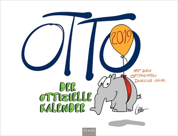Kalender Otto Walkes 2019