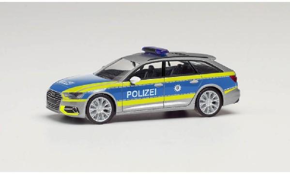 Audi A6, Polizei Thüringen; 1:87