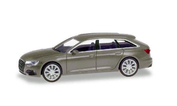 Audi A6 Avant, taifungrau; 1:87