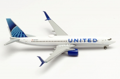 B737-800 United Airlines; 1:87