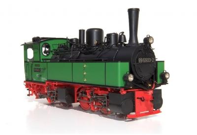 BR 99 5903-2 Zustand 1986 grün/schwarz