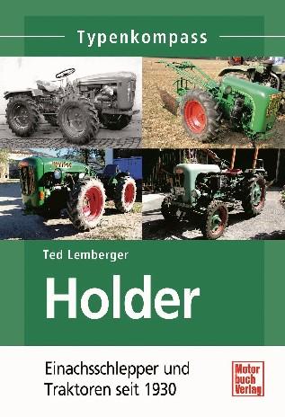TK Holder- Einachsschlepper