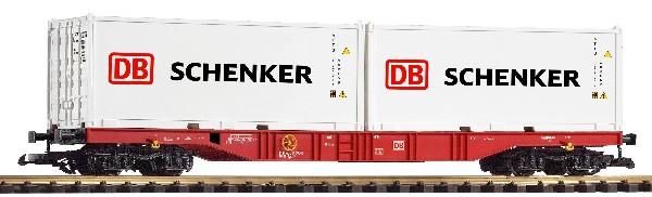 G-Ctrgwg m. 2 Containern ``DB Schenker``