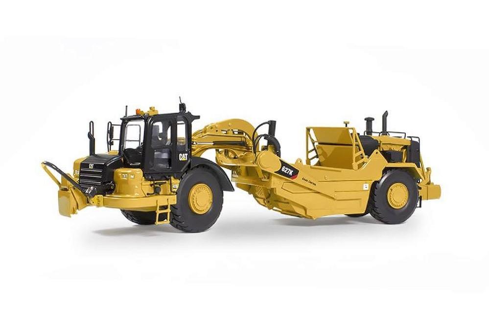 cat 627k scraper 1 50 lkw modelle traktoren modelle. Black Bedroom Furniture Sets. Home Design Ideas
