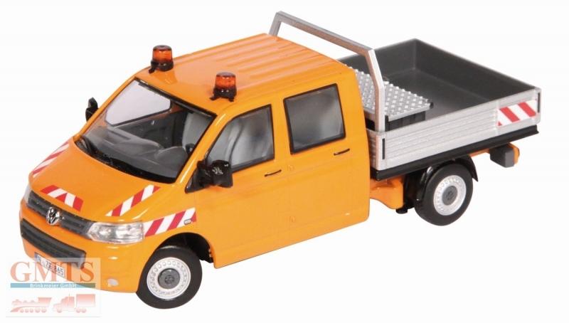 volkswagen t5 doppelkabine 1 50 lkw modelle traktoren. Black Bedroom Furniture Sets. Home Design Ideas