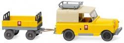 Land Rover mit Anhänger ``PTT`` 1:87