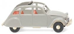 Citroën 2 CV - achatgrau 1:87