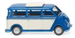 DKW Schnelllaster Bus (blau/perlwei 1:87