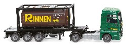 MAN  TGX Tankcontainersattelzug 20` 1:87