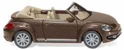VW The Beetle Cabrio - toffeebraun 1:87