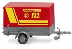 Feuerwehr - Pkw-Anhänger     ; 1:87