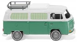 VW T2 Campingbus - mintgrün/weiß 1:87