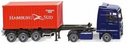 Containersattelzug  MAN TGX Euro 6 1:87