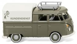 VW T1 Doppelkabine- VW Kundendienst 1:87