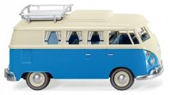 VW T1 Campingbus - perlweiß/blau 1:87