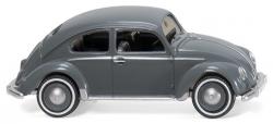 VW Brezelkäfer - blaugrau 1:87