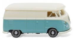 VW T1 Kastenwagen - pastelltürkis/cremew