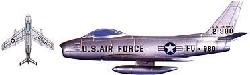 F-86 Sabre               1:112