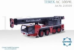TEREX AC 100/4L Teleskopkran, 1:50