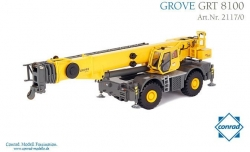 GROVE 8100 Rough Terrain Kran   1:50