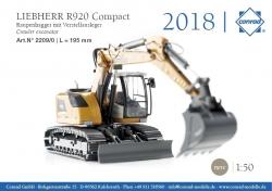 LIEBHERR R 920 Compact Raupenbagger 1:50