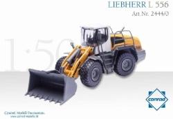 LIEBHERRL 556 Industrie-Radlader mit 1:5