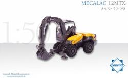MECALAC 12 MTX Mehrzweckfahrzeug  1:50