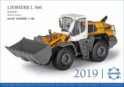 LIEBHERR L 566 X Power Radlader 1:50