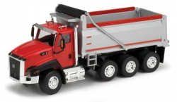 Cat CT660 Dump Truck Red and Black;1/50