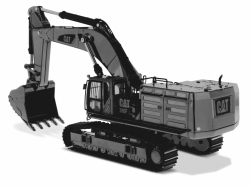 Cat 390F LE Hydraulic Excavator with1:50