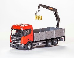 Scania CR 500 Next G. Pritsche+Ladek1:25