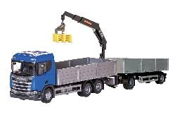 Scania Streamli, offener Haengerzug 1:25