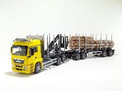 MAN TGS LX 6x4 Holzhängerzug 1:25