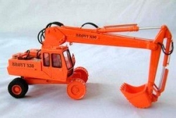 Excavator Broyt X30 - Wheels version - C