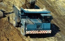 FAUN K40 Dumper blau  1:87