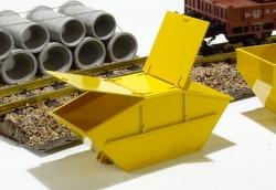 Absetzcontainer m.Deckel 158x73x64 1:25
