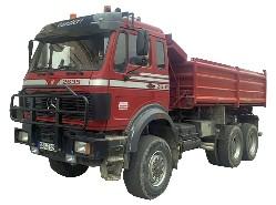 Mercedes SK 2635 AK 6x6 Kipper   1:50