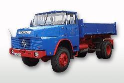 Henschel H 161 AK (4x4) Kipper blau 1:50