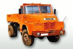 Henschel H 161 AK (4x4) Kipper oran 1:50