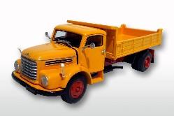 Steyr 586 4x2 Kipper, orange/rot 1:50