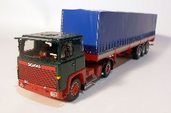 Scania S 0 mit Planenauflieger  1:50