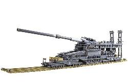 Deutsches 80mm Eisenbahngeschütz 1:72