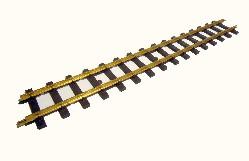 gerades Gleis 0600mm lang