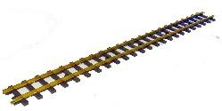 grades Gleis 0900 mm lang