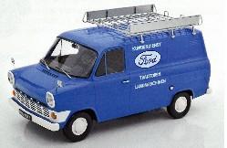 Ford Transit MK1 Kasten 1965 blau 1:18
