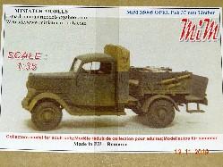 Opel Pritschenfahrzeug 1 to   1:32/35
