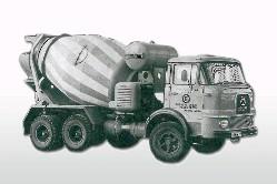 Krupp F 360 6x4 Betonmischer  1:87