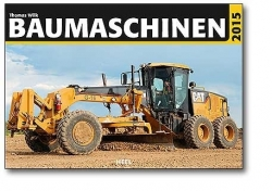 Kalender 2015 CAT Baumaschinen